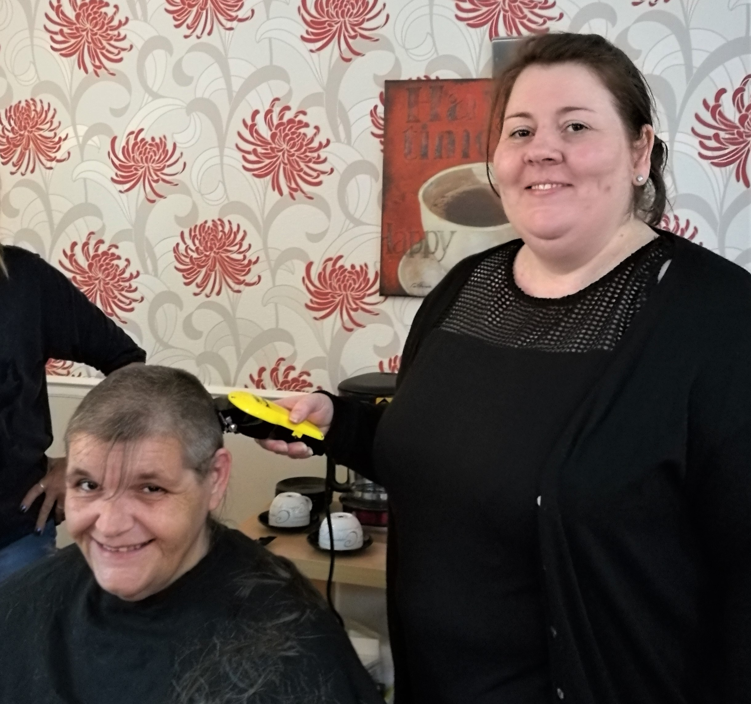 2 Ruth Atkinson head shave
