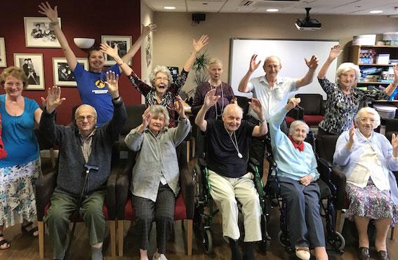 Belong Crewe dance group