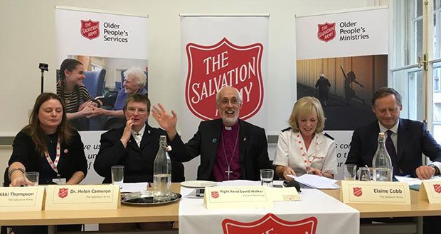 Conservative Party Conference The Salvation Army fringe discussion image