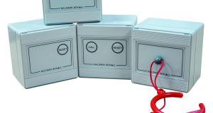 IP65 rated disabled toilet alarm from Baldwin Boxall