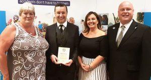 Barchester-Healthcare-celebrate-recent-RoSPA-award-win