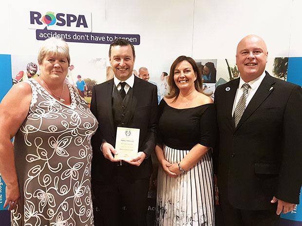 Barchester Healthcare celebrate recent RoSPA award win