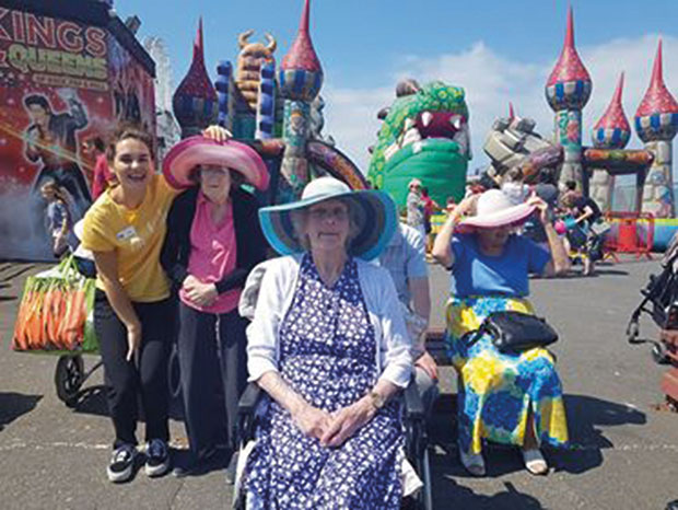 Borough Care Wellcroft Residents Trip