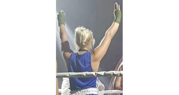 PR27 Sophie Rawlinson Boxing Match Win 1