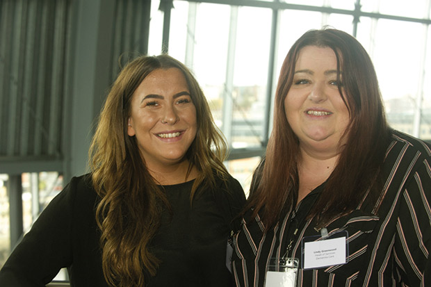 2 L to R Hannah Stevens and Lindy Greenwood of Dementia Matters