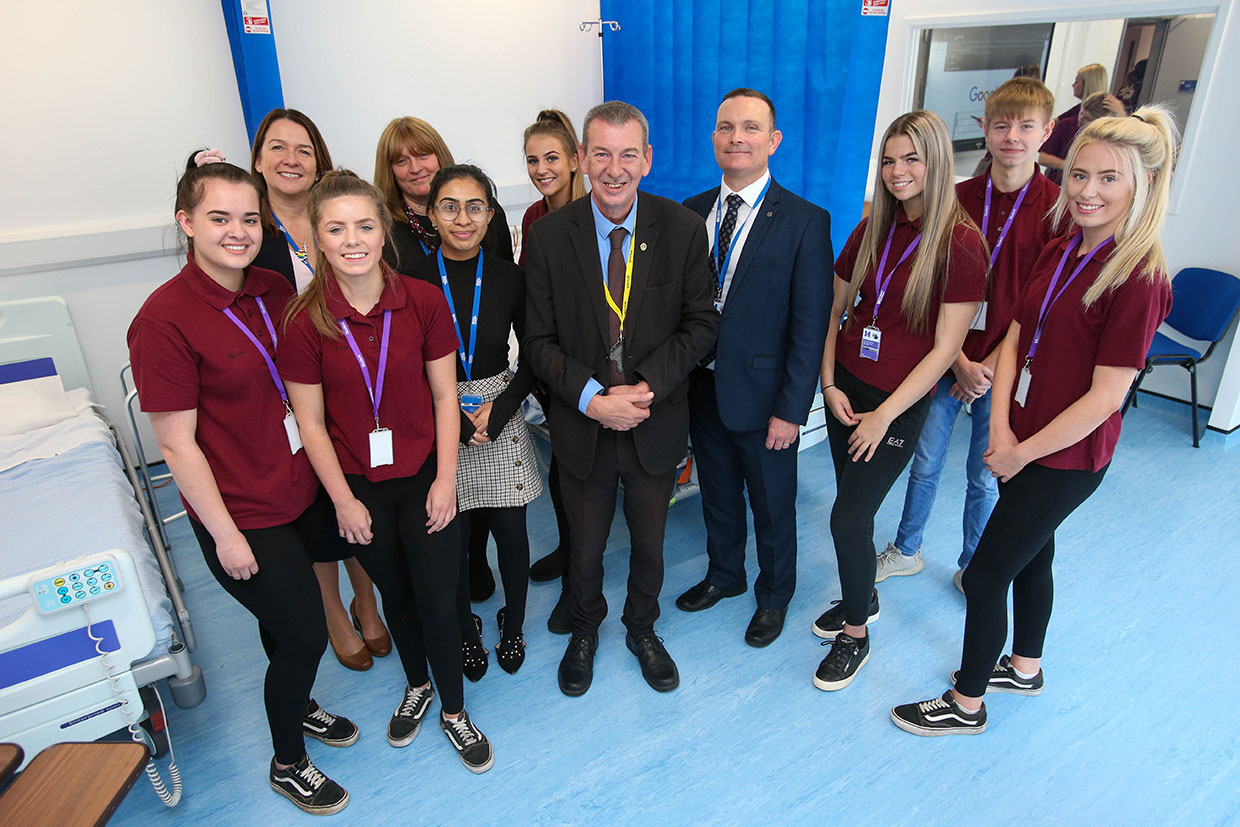 Hartlepool Sixth Form launches Health Hub