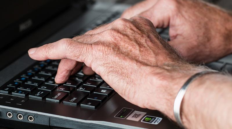 computer elderly