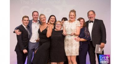 Gracewell Of Sutton Coldfield Wins 'Best Care Team' At National Care Awards