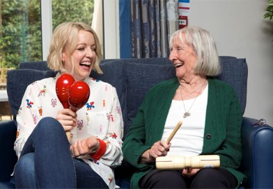 Presenter Lauren Laverne Urges People With Dementia, Their Families And Carers To Build Music Playlists This Christmas