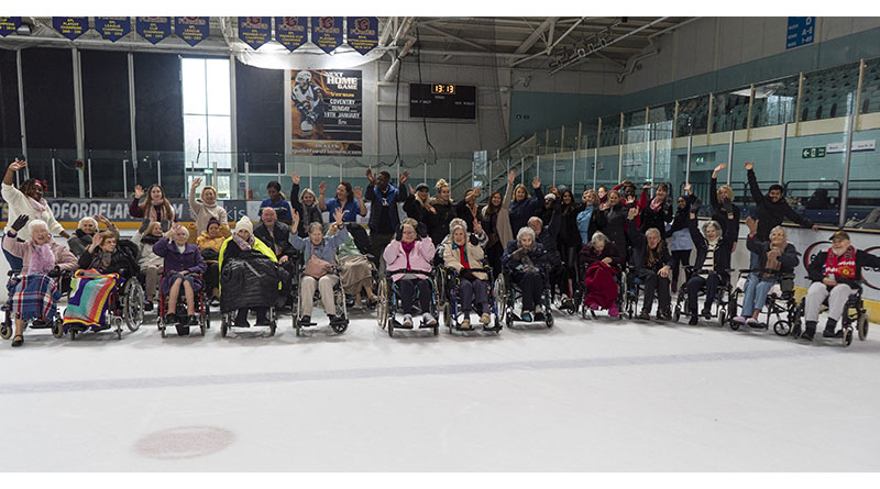 "26 Care Residents Take to the Ice to Celebrate ""Make Your Dream Come True Day"""