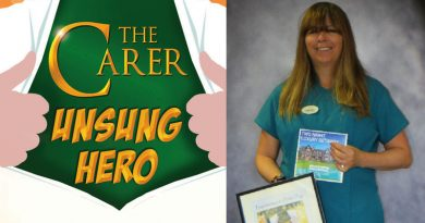 The Carer's Christmas Unsung Hero is…