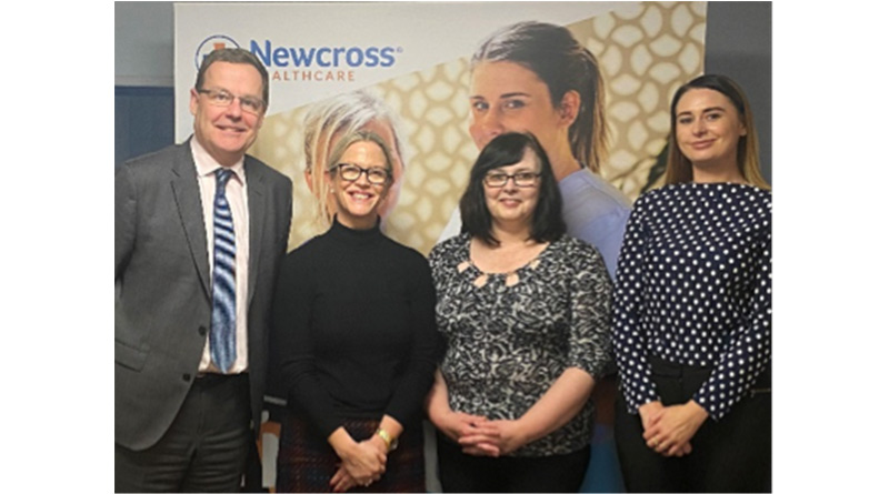 Newcross Healthcare Rated Good By Cqc For Complex Care In Gloucestershire - A group of people posing for a photo - Pattern M
