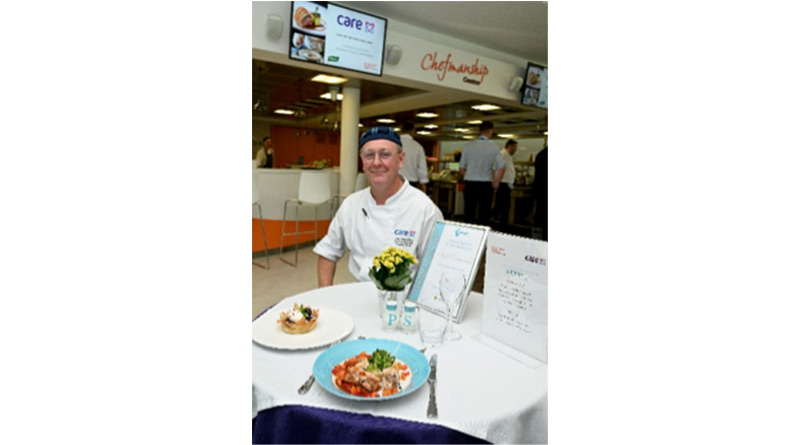 Care UK Chef Of The Year And Dining Awards Announced - A person standing in a kitchen - Product