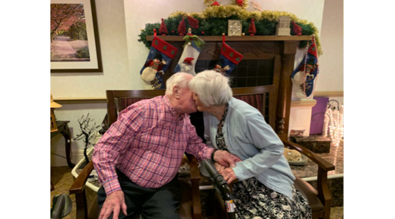 Married Couple Of 69 Years Celebrate Valentine's Day At Sunrise Of Edgbaston