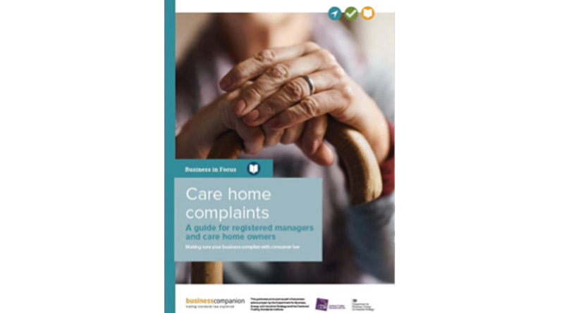 New Government-Backed Care Home Complaints Guide Launched