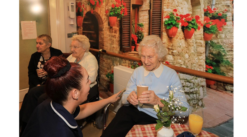West Sussex Care Home Launches Happiness Café