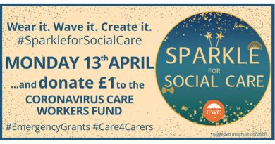 Fairy Lights And Sparkle Shows Support For Care Workers Emergency Appeal
