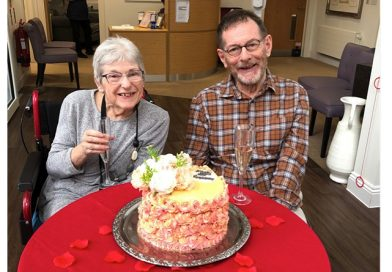 Residents At Gracewell Of Camberley Celebrate Their 50th Anniversary With Surprise Virtual Party