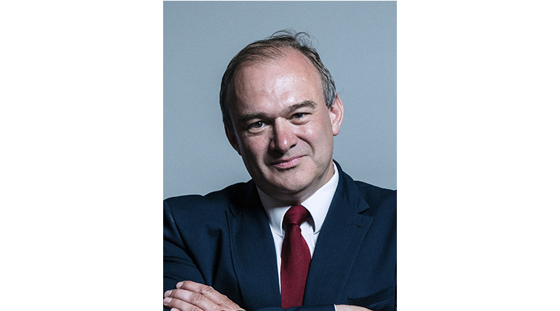 "Government Has ""No Clue About Carers"", Says Lib Dem Leader Ed Davey"
