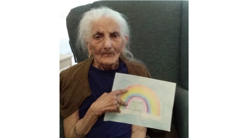 Care Home Residents Receive Hand-Drawn Pictures And Heart-Warming Letters From Local Children