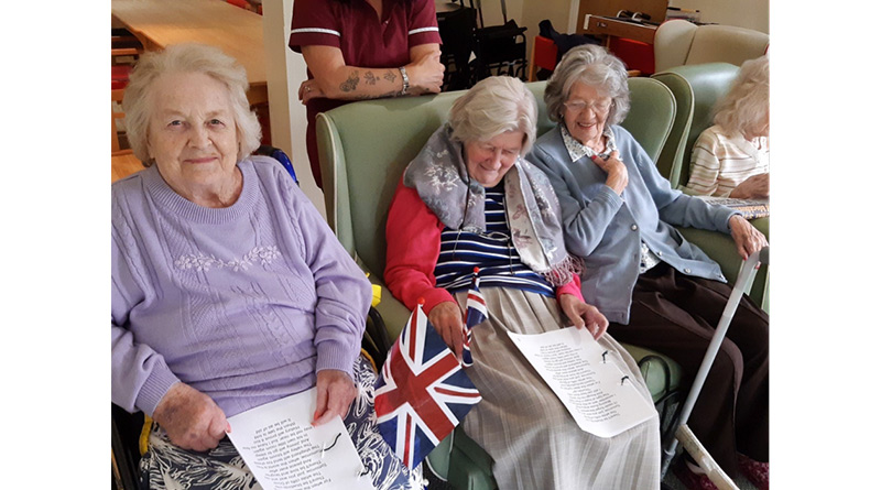 """We'll Meet Again"" – Memorial For Much Loved Wartime Singer Held By Cottingham Care Home Residents"