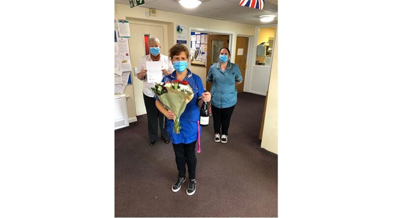 Bridgend Colleague Celebrates 20 Years At Care Home