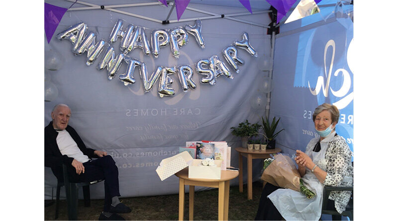 Husband And Wife Reunited In Time To Celebrate Their 62nd Wedding Anniversary