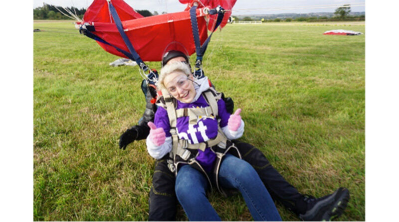 Learning Disability Service Manager Takes Leap Of Faith For Charity