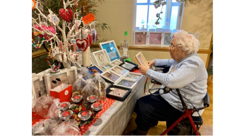 Residents At Hertfordshire Care Home Enjoy Christmas Market INSIDE Home Due To Pandemic Restrictions