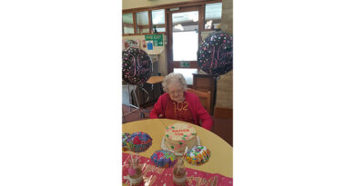 Former Red Cross Volunteer Celebrates 102nd Birthday At Llanidloes Care Home
