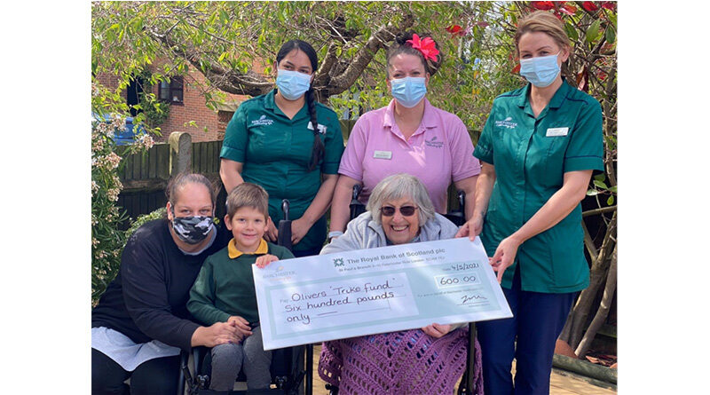 Care Home Donates For 4-Year-Olds Dream 'Red' Trike
