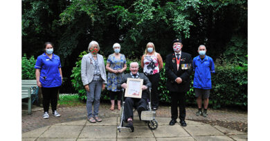 Quantum Care Resident Receives Award From The Royal British Legion