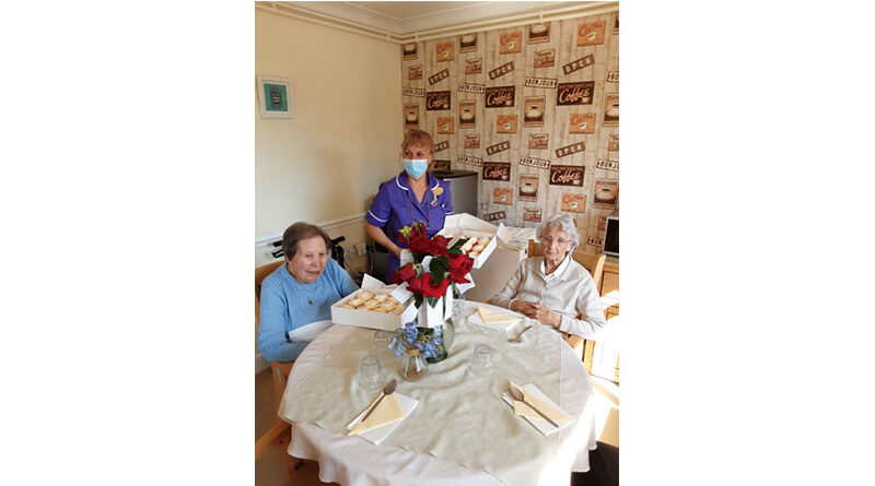 Newark Care Homes Collaborate With Talented Local Baker To Support Small Businesses