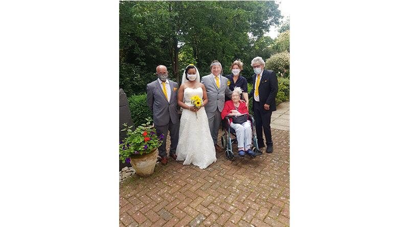 MHA Elmside Hosts Wedding Re-Enactment For Devoted Grandmother