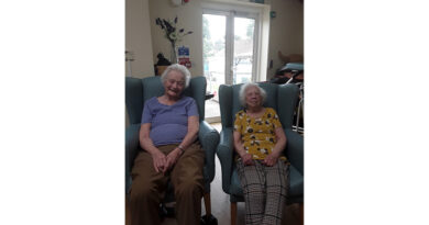 Power Of Reminiscing: Nostalgic Photograph Rekindles Long-Time Friendship Of Two Residents At Dartford Care Home