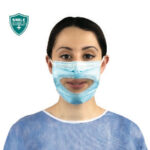 New Transparent Face Mask Shields Your Smile, Without Hiding It!