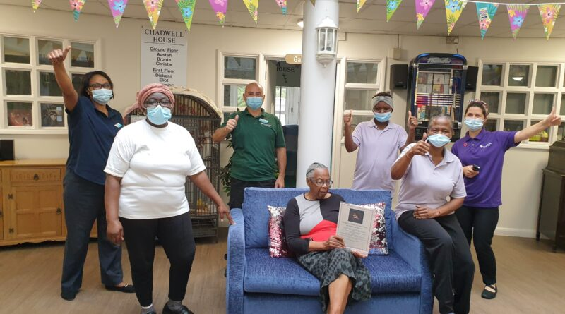 Romford Care Home Team Nominated For Two National Awards