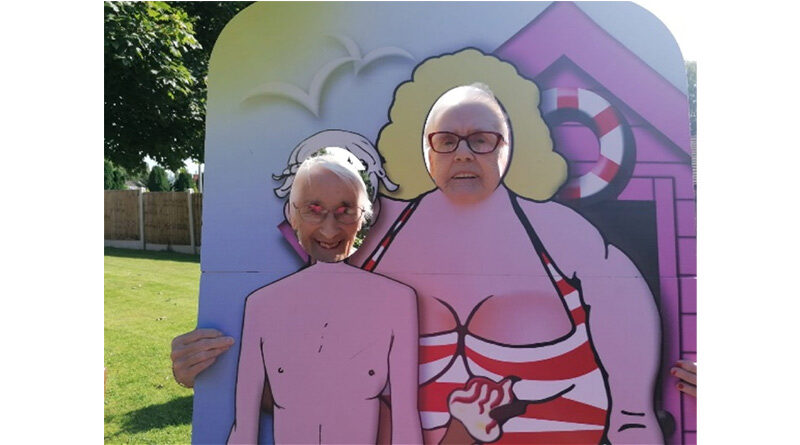 Atherton Care Home Residents Do Like to be Beside the Seaside